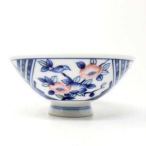 Antique Yamashita Zo Porcelain Rice Bowl